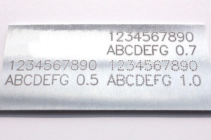 Nameplate Marking SAMPLE