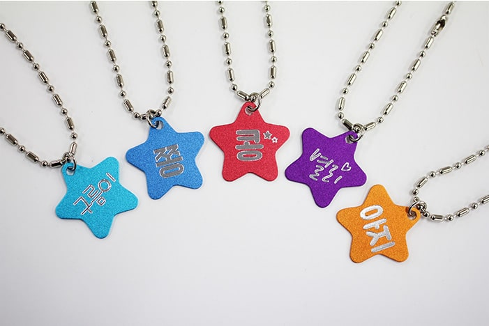 Pet Tag Engraving SAMPLE