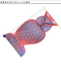 3D Cutting 02. Create a toolpath