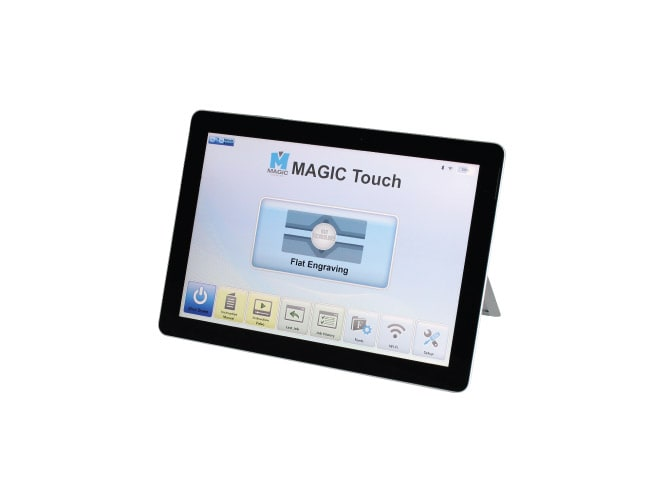 Customized Tablet program for MAGIC MagicTouch